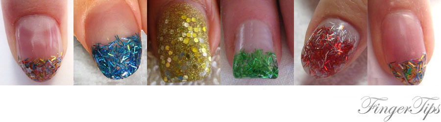 tinsels and glitter